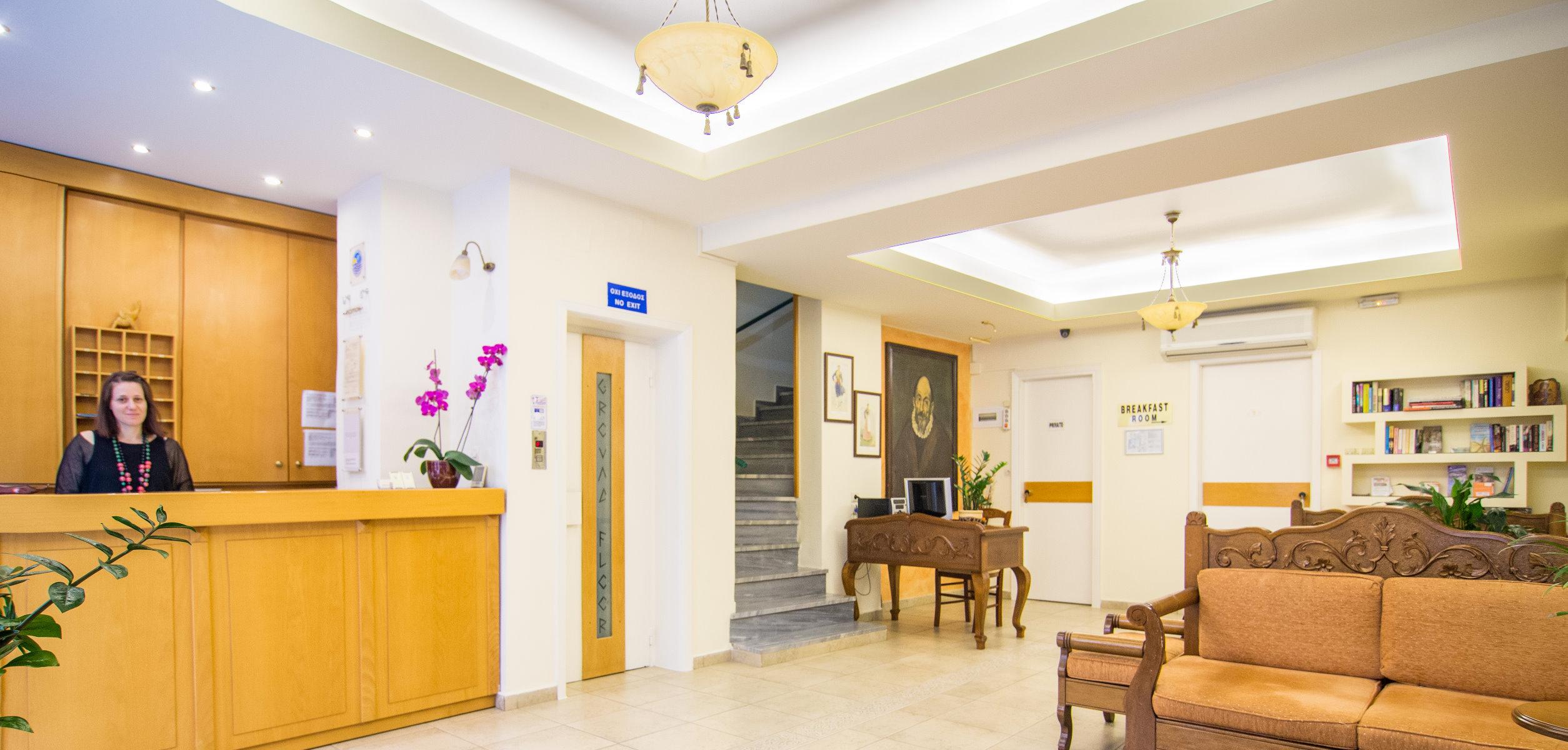El Greco Hotel - Contact Us