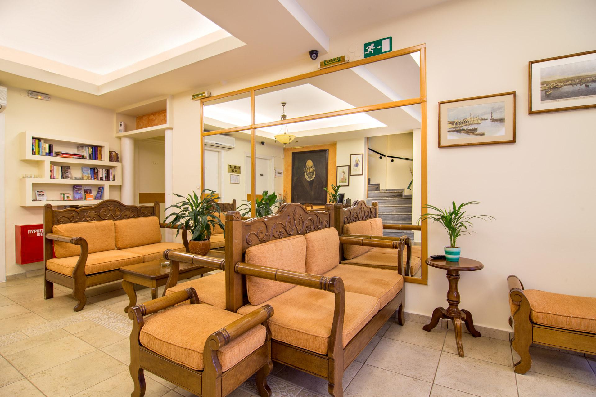 El Greco Hotel RECEPTION & LOBBY